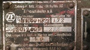 ZF BW1500 H322-kupedo